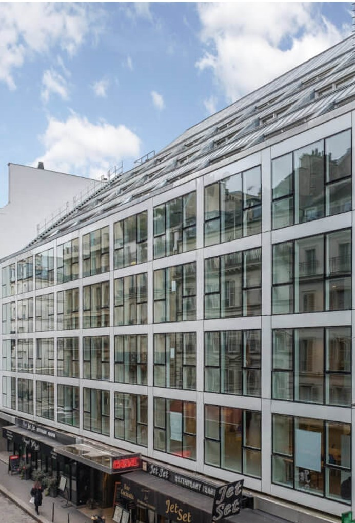 "BNP Paribas REIM acquires the fully refurbished office building""16 Washington"", near the Champs Elysées in Paris"